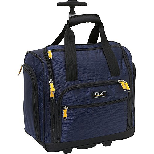 "LUCAS 16"" Wheeled Underseat Cabin Bag (16inch, Blue)"