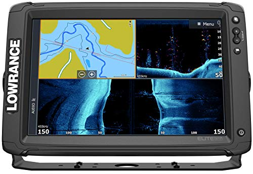Elite-12 Ti2-12-inch Fish Finder Active Imaging 3-in-1Transducer, Wireless Networking, Real-Time Map Creation US/CAN Navionics+ Mapping Card ...