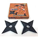 Viz Media Naruto Shippuden Foam Ninja Shuriken Official Licensed, 2 Piece