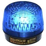 Seco-Larm Enforcer Xenon Strobe Light, 12VDC, Blue Lens