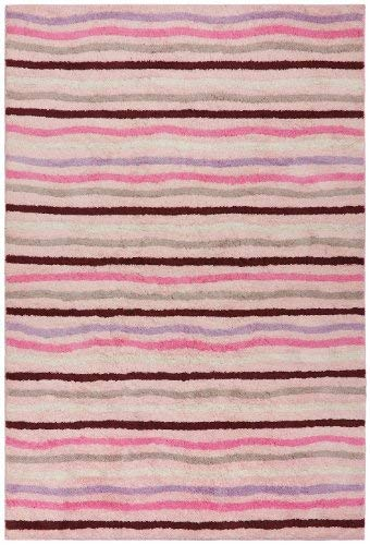 - Carousel Ziggy Rug, 30-Inch by 50-Inch, Pink