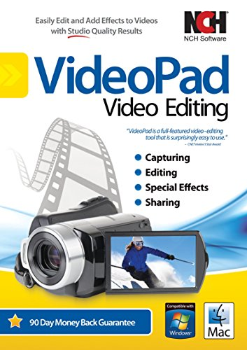 VideoPad Video Editor - Create Professional Videos with Transitions and Effects [Download] (Windows Video Editing Software)
