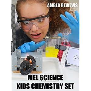 Amber Reviews MEL Science Kids Chemistry Set