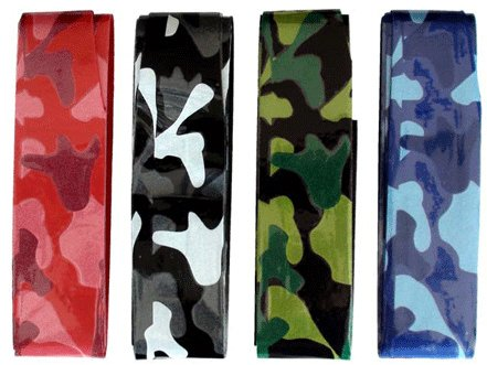 4 Overgrip Pros Pro Camouflage Tennis Grips Pro's Pro G167