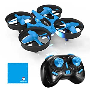 REDPAWZ H36 Mini Drone 2.4G 4CH 6Axis Gyro Headless Mode Remote Control One-Key Return RC Quadcopter for Kids RTF
