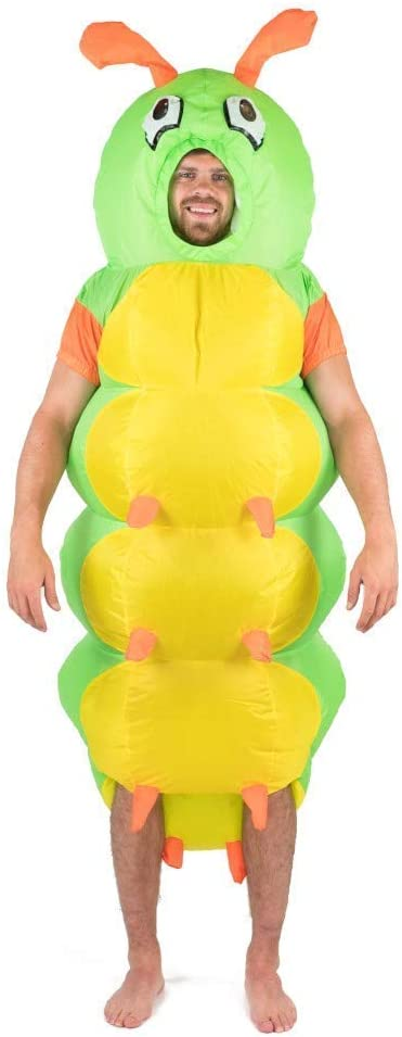 Bodysocks® Disfraz Hinchable de Oruga Adulto: Amazon.es: Juguetes ...