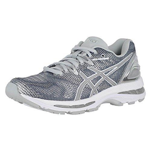 ASICS Gel-Nimbus 20 Platinum W Carbon/Silver/White Womens Running Size 6.5M