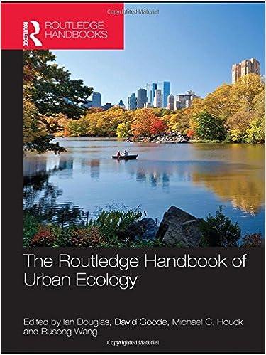 HANDBOOK OF URBAN ECOLOGY EBOOK
