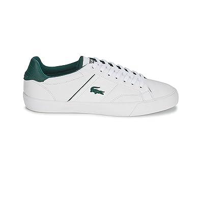 Lacoste Men Sports Shoes 30SPM0010 Fairlead REI 21G White-White Size 46,5 dbb18c766f