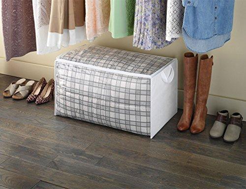 Zober Jumbo Blanket Storage Bags With Zipper Comforter