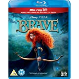 Brave [Blu-ray 3D + 2D] [Region-Free] [UK Import]