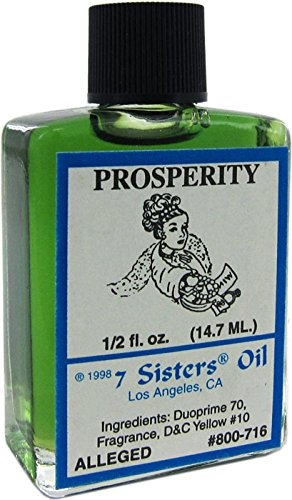 - 7 Sisters Of New Orleans Perfumed Anointing Oil - PROSPERITY 1/2oz