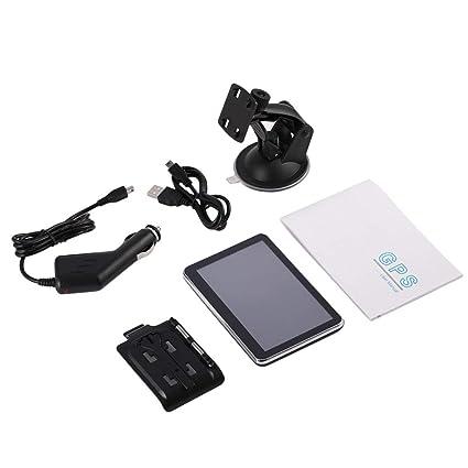 Mazur 4G 560 Navegador GPS portátil con GPS de 5 Pulgadas y Pantalla Ancha de 5