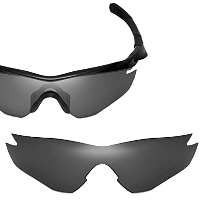 3cbe615ca8 Cofery Replacement Lenses for Oakley M2 Sunglasses - Multiple Options  Available (Black - Polarized)