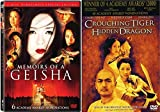 Foreign Academy Aware Winners Crouching Tiger Hidden Dragon & Memoirs of a Geisha (2-Disc Special Edition) 2-Movie Bundle