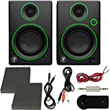 Mackie CR Series CR3-3' Creative Reference Multimedia Monitors (Pair) + Includes Bluetooth 2-in-1 Wireless Audio Receiver