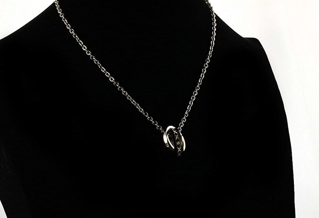 His /& Hers Matching Set Titanium Steel Couples Pendant Necklace Price For 1Pc Gnzoe Jewelry