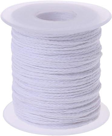 yuaierchen - Rollo de Vela (61 m, algodón, Encerada, no humedecer ...