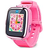 VTech Kidizoom Durable Smart Watch DX, Features Built-in Camera, Alarm, Stop Watch, Timer, Voice Recorder and Games (4+ Years), Pink