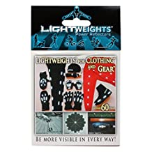 Lightweights Power Reflectors for Clothing, 60-Piece