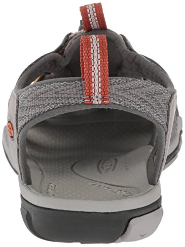Keen Clearwater CNX, Sandali a Punta Chiusa Uomo Grigio (Grey Flannel/Potters Clay Grey Flannel/Potters Clay)