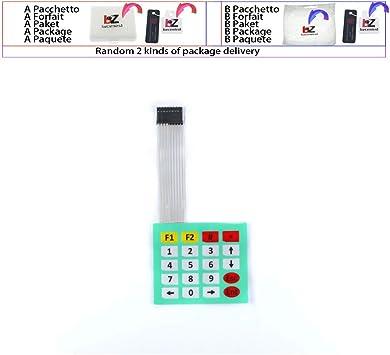 Super Slim 1x4 Matrix 4 Key Membrane Switch Control Keyboard For Arduino WF