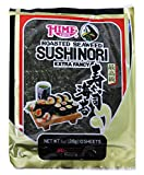 Hime Tempura Batter Roasted Seaweed Sushinori Wrap, 1 Ounce - 10 per pack - 12 packs per case.