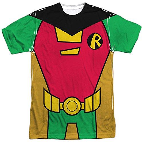 TeeShirtPalace Teen Titans Go - Robin Uniform Costume