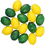 IETONE 16 Pcs Artificial Fruit, Lifelike Fake