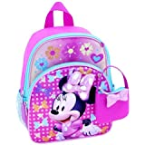 "Disney Minnie Mouse 10"" Toddler Backpack with Mini Handbag set"