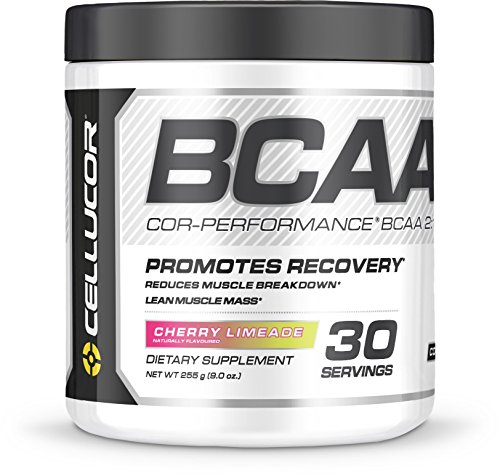 Cellucor COR Performance BCAA Powder, Branched Chain Amino Acids with Leucine, Isoleucine, and Valine, Cherry Limeade, 30 Servings (Stack Powder Bcaa)