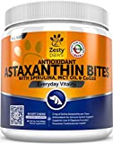#4: Zesty Paws Antioxidant Astaxanthin for Dogs - Immune, Hip & Joint, Cardiovascular & Digestive Support Supplement - With CoQ10 & Organic Spirulina + Coconut MCT Oil & Vitamins E and B12-90 Chew Treats