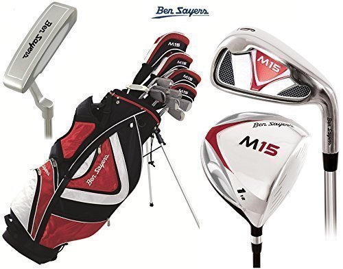 Ben Sayers M15 Complete Golf Club Set bolsa de soporte de ...