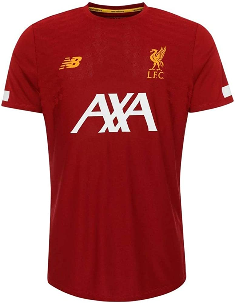 New Balance Men's Liverpool FC Short Sleeve Jersey