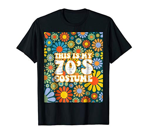 This Is My 70s Costume Vintage Retro T Shirt 1970s Shirt ()