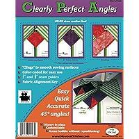 Plantillas para coser de ángulos perfectamente perfectos de NLSCPA08 de New Leaf Stitches