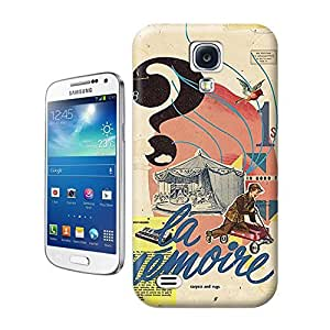 Unique Phone Case In Good Time Muharrem Cetin retro style collage design Hard Cover for samsung galaxy s4 cases-buythecase