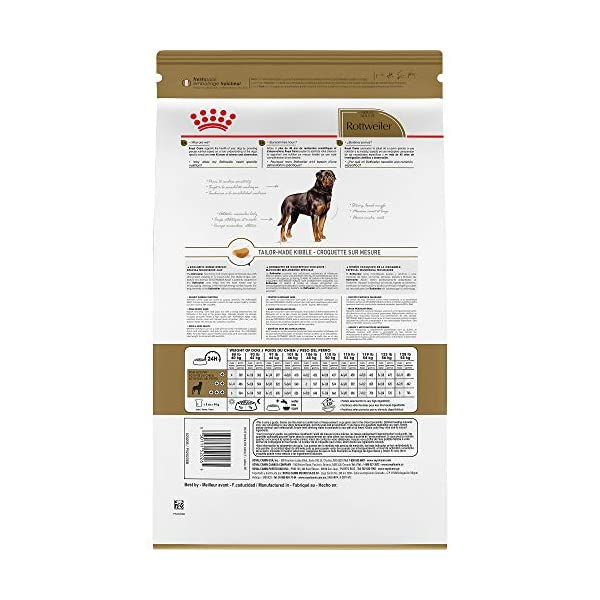 Royal Canin Breed Health Nutrition Rottweiler Adult Dry Dog Food 3