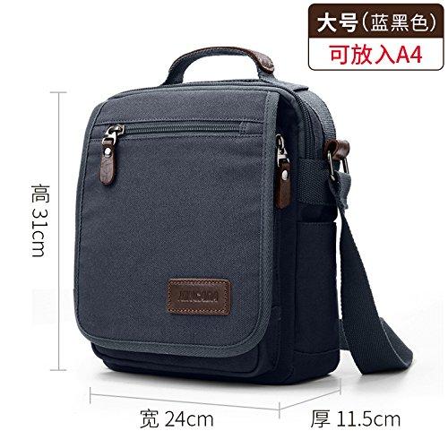 37dde53386 SunBao New generation of single shoulder bags men canvas bag is good for business  and leisure package across small Backpack Bundle-men Messenger Bag