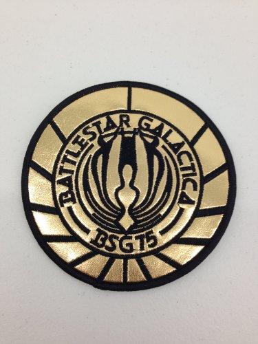 BATTLESTAR GALACTICA BSG-75 UNIFORM LOGO PATCH ()