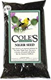 Niger seed, often mistakenly called thistle seed, is a favorite of beautiful wild finches like the American goldfinch. It is best used in a specifically designed tubular feeder with small holes where it can be economically dispensed. Ingredients: nig...