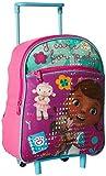 Disney Girls' Doc Mcstuffins 12 Inch Rolling Backpack