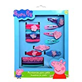 Peppa Pig Girl Hair Accessories,Ponytail,Tiny Terry,Clips,Hairpins(20 Pieces)