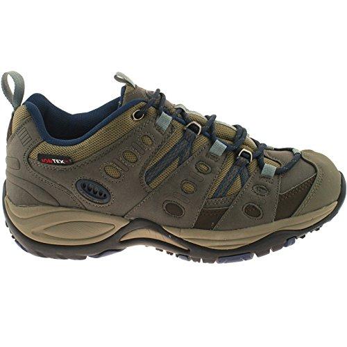 Katmandú Enfoque Zapatos–Marrón/Color Azul Marino–Marrón/Marino–Talla Uk para hombre Tamaño 13