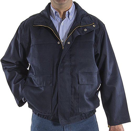 7 oz Navy Majestic Gloves FR 3-in-1 4X-Large Majestic Glove 91930N//X4 Bomber Jacket NOTP Unins