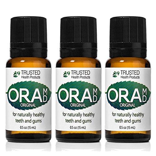 OraMD Original - Best Mouthwash - Toothpaste and Mouthwash Alternative - 100% Pure Essential Oils - Alcohol Free Mouthwash