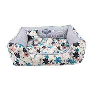 70%OFF Puppia Authentic Soft Spice Dog Bed, Navy