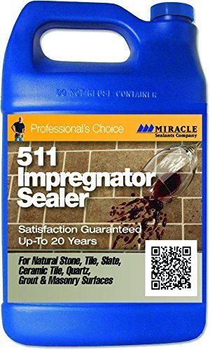 Miracle Sealants - 511 Impregnator Penetrating Sealer 128 oz. - Gallon - 4 Pack by Miracle Sealants