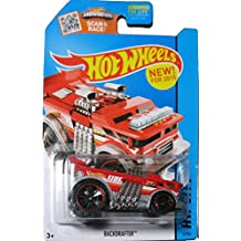 Hot Wheels, 2015 HW City, Backdrafter Fire Truck [Red] Die-Cast Vehicle #5/250 by Hot Wheels