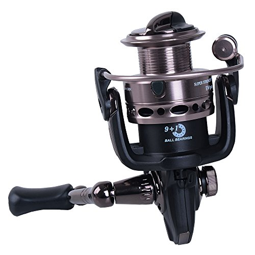 NetAngler Fishing Reels Spinning Reel Left/Right Interchangeable Handle for Freshwater Saltwater